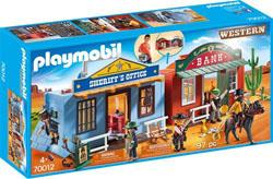 Playmobil Western Le western 70012 Coffret de Far-West transportable