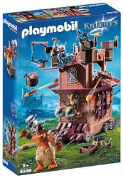 Playmobil Knights Les combattants nains 9340 Tour d'attaque mobile des nains