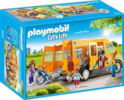 Playmobil City Life L'école 9419 Bus scolaire