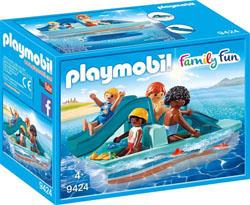 Playmobil Family Fun La Villa de vacances 9424 Pédalo