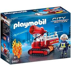 Playmobil City Action Les pompiers 9467 Pompier avec robot d'intervention