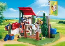 Playmobil Country 6929 Box de lavage pour chevaux