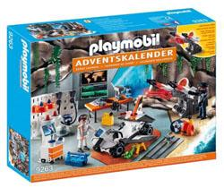 Playmobil 9263 Calendrier de l'Avent Top Agents