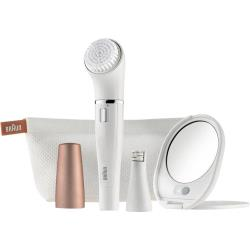 Epilateur Braun FACE 831 blanc, bronze