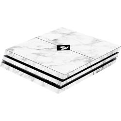Coque PS4 Pro Software Pyramide Skin für PS4 Pro Konsole White Marble