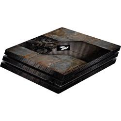Coque PS4 Pro Software Pyramide Skin für PS4 Pro Konsole Rusty Metal