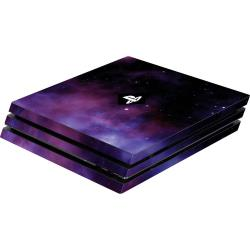 Coque PS4 Software Pyramide PS4 Pro Skin Galaxy Violet