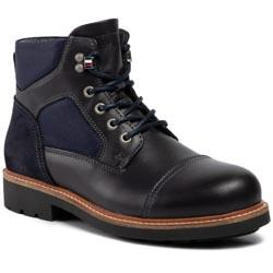 Boots TOMMY HILFIGER - Active Material Mix Boot FM0FM02426  Midnight 403